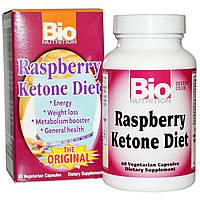 Bio Nutrition, Диетическая добавка с малиновым кетоном, 60 растительных капсул