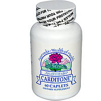 Ayush Herbs Inc., Carditone, 60 капсуловидных табеток