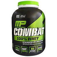 """Muscle Pharm, """"Битва"""", 100% сывороточный белок со вкусом ванили, 32 унции (907 г)"""