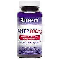 MRM, Пищевая добавка 5-HTP, 100 мг, 60 растительных капсул