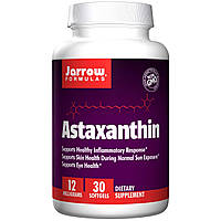 Jarrow Formulas, Астаксантин, 12 мг, 30 гелевых капсул