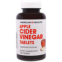 American Health, Яблочный уксус в таблетках, 200 таблеток