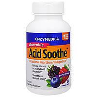 Enzymedica, Жевательные Таблетки для Снижения Кислотности, Ягодный Вкус, 60 Таблеток