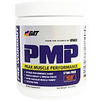 GAT, PMP, перед тренировкой, пиковая производительность мышц, апельсин и сливки, 9 унций (255 г)