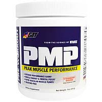 GAT, PMP, перед тренировкой, пиковая производительность мышц, клубника и банан, 9 унций (255 г)