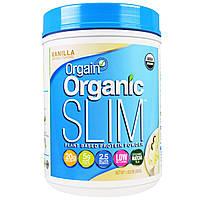 Orgain, Органический протеиновый порошок для стройной фигуры на основе растений, ваниль, 1,02 фунта (462 г)