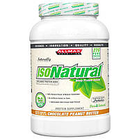 ALLMAX Nutrition, IsoNatural, 100% Ultra-Pure Natural Whey Protein Isolate (WPI90), Chocolate Peanut Butter, 2 lbs (907 g)