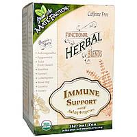 Mate Factor, Органические детоксирующие травяные смеси, иммунная поддержка адаптогенов, 20 пакетиков, (3,5 г) каждый