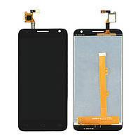 Дисплей (LCD) Alcatel 6036D One Touch Idol 2 Mini S с сенсором черный