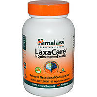 Himalaya Herbal Healthcare, Пищевая добавка LaxaCare, 60 растительных капсул