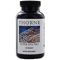 Thorne Research, Супер ЭПК Про, 120 желатиновых капсул