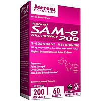 Jarrow Formulas, Натуральный SAM-e (S-Adenosyl-L-Methionine) 200, 200 мг, 60 таблеток