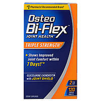 Osteo Bi-Flex, Glucosamine Chondroitin with 5-Loxin Advanced Joint Care, Утроенная сила, 120 каплетов