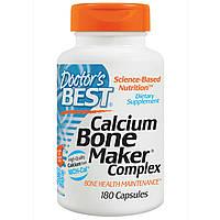 Doctor's Best, Комплекс для укрепления костей с кальцием, 180 капсул