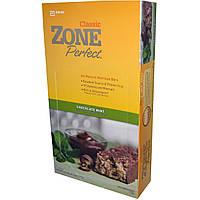 ZonePerfect, Классические, полностью натуральные батончики, мятный шоколад, 12 шт., 50 г каждый