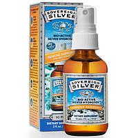 Sovereign Silver, Bio-Active Silver Hydrosol, Fine-Mist Throat Spray, 10 PPM, 2 fl oz (59 ml)