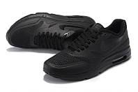 Кроссовки мужские Nike Air Max 87 Hyperfuse All Black (найк аир макс) чёрные