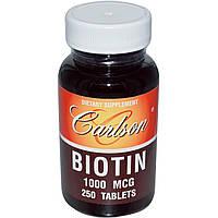 Carlson Labs, Биотин 250 таблеток