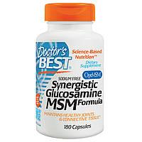 Doctor's Best, Синергетический Глюкозамин, МСМ Формула, 180 Капсулы