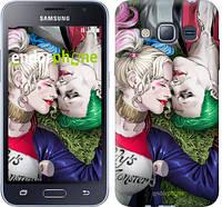 "Чехол на Samsung Galaxy J1 (2016) Duos J120H Джокер и Харли Квинн v2 ""3806c-262"""