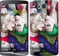 """Чехол на LG G3 D855 Джокер и Харли Квинн v2 """"3806c-47"""""""