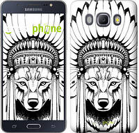 "Чехол на Samsung Galaxy J5 (2016) J510H Тотем волка ""3484c-264"""