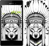 """Чехол на Sony Xperia XA Тотем волка """"3484c-399"""""""