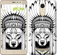 """Чехол на Xiaomi Mi 5s Plus Тотем волка """"3484c-396"""""""