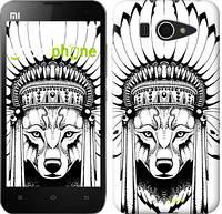 "Чехол на Xiaomi Mi2 Тотем волка ""3484u-191"""