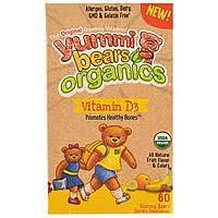 """Hero Nutritional Products, Жевательные витамины D3 """"Вкусные мишки"""", натуральный фруктовый вкус, 60 штук"""