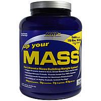 Maximum Human Performance, LLC, Up Your Mass, гейнер, ваниль, 4,6 фунта (2094,4 г)