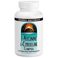 Source Naturals, Комплекс L-аргинина L-цитруллина, 1000 мг, 240 таблеток