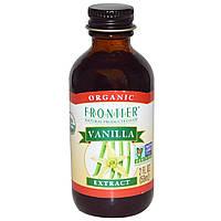 Frontier Natural Products, Натуральный экстракт ванили, 2 жидких унции (59 мл)