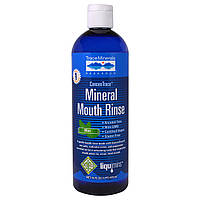 Trace Minerals Research, ConcenTrace, Минеральный ополаскиватель для полости рта, Мята, 16 жидких унций (473 мл)