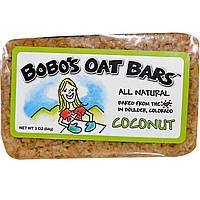 Bobo's Oat Bars, Кокосовый батончик, 3 унции (85 г)