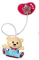 Интерактивная пустышка для куклы Zapf Baby Born Не будем плакать со звуком и светом Мишка (819258-2)