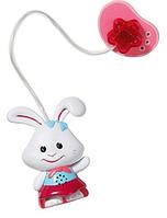 Интерактивная пустышка для куклы Zapf Baby Born Не будем плакать со звуком и светом зайчик (819258-1)
