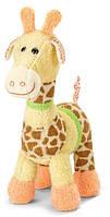 Мягкая игрушка-погремушка Жираф (31120)