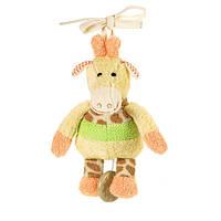 Мягкая музыкальная игрушка Sterntaler Жираф на завязках (62120)