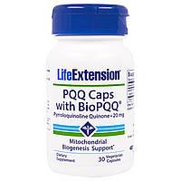 Life Extension, Капсулы PQQ с комплексом BioPQQ, 20 мг, 30 вегетарианских капсул