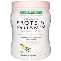 Nature's Bounty, Protein Shake Mix, Vanilla,16 oz