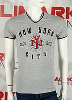 Valimark 2017 мужская футболка V образный вырез new york код 17V75, фото 1