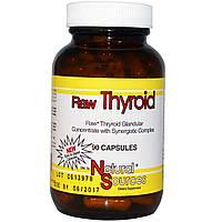 Natural Sources, Гормоны для щитовидной железы, 90 капсул