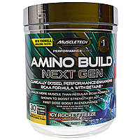Muscletech, Amino Build Next Gen Energized, Icy Rocket Freeze, 276 г (9,73 унций)