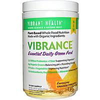 Vibrant Health, Формула Vibrance, незаменимый ежедневный растительный комплекс, заряжающий энергией апельсин и ананас, 9 унций (255.21 г)