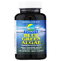 "American Health, ""Побережье Кламата"", сине-зеленые водоросли, 120 капсул"
