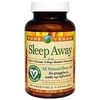 Pure Vegan, Глубокий сон, 90 вегетарианских капсул