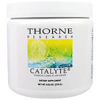Thorne Research, Catalyte, вкус лимона лайм , 9.52 унции(270 г)
