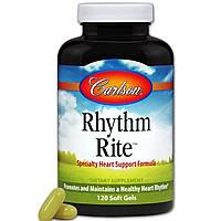 Carlson Labs, Rhythm Right, 120 капсул