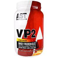AST Sports Science, VP2, Изолят сывороточного протеина, со вкусом цитрусовых, 2 фунта (908 г)